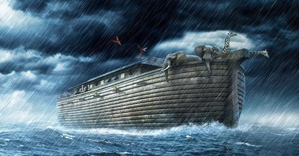 Kisah Perjalanan Kapal Nabi Nuh Usai Banjir Bandang
